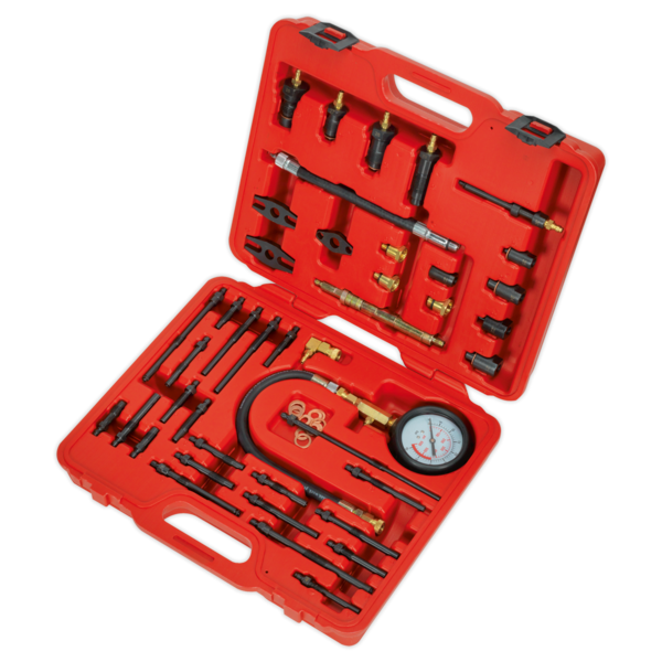 Sealey VSE3155 Petrol & Diesel - Master Compression Test Kit  Thumbnail 2