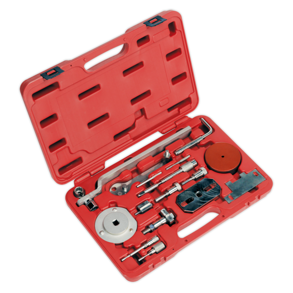 Sealey Diesel Engine Setting/Locking Kit - Fiat, Ford, PSA - 2.2D Belt/Chain Dr Thumbnail 1