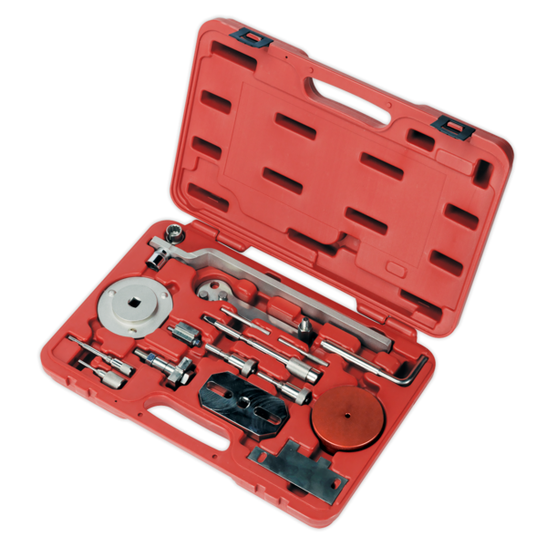 Sealey Diesel Engine Setting/Locking Kit - Fiat, Ford, PSA - 2.2D Belt/Chain Dr Thumbnail 3