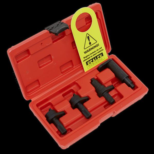 Sealey VSE5921 Petrol Engine Timing Tool Kit - VAG 1.2 3Cyl (6v/12v) Chain Drive Thumbnail 1