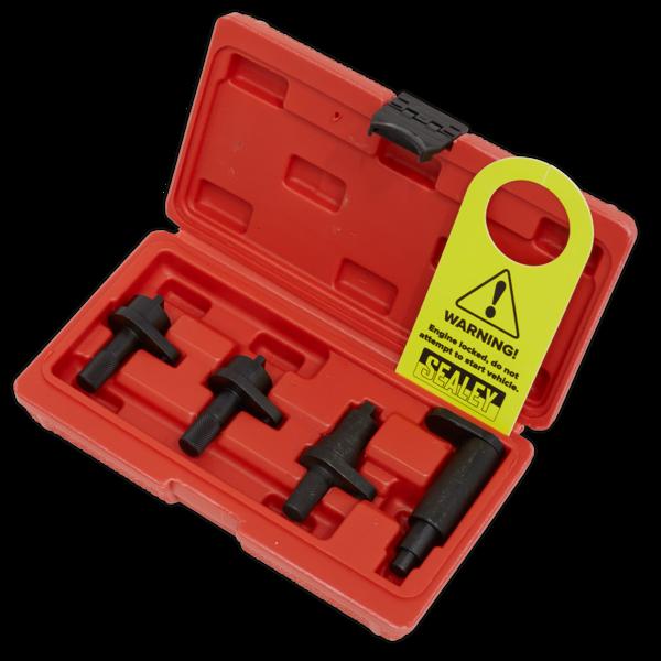 Sealey VSE5921 Petrol Engine Timing Tool Kit - VAG 1.2 3Cyl (6v/12v) Chain Drive Thumbnail 2