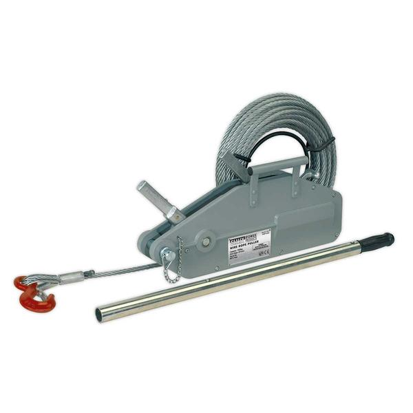 Sealey WRP1600 Wire Rope Puller 1600kg Max Line Force Thumbnail 1