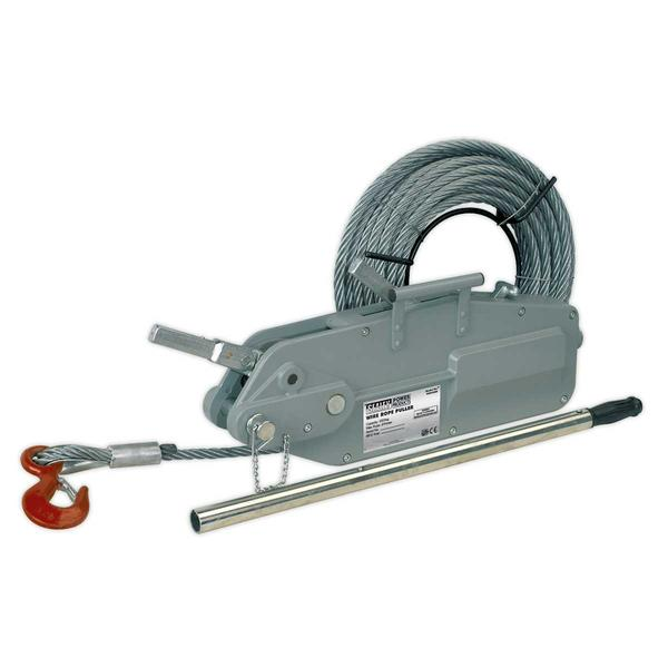Sealey WRP3200 Wire Rope Puller 3200kg Max Line Force Thumbnail 1