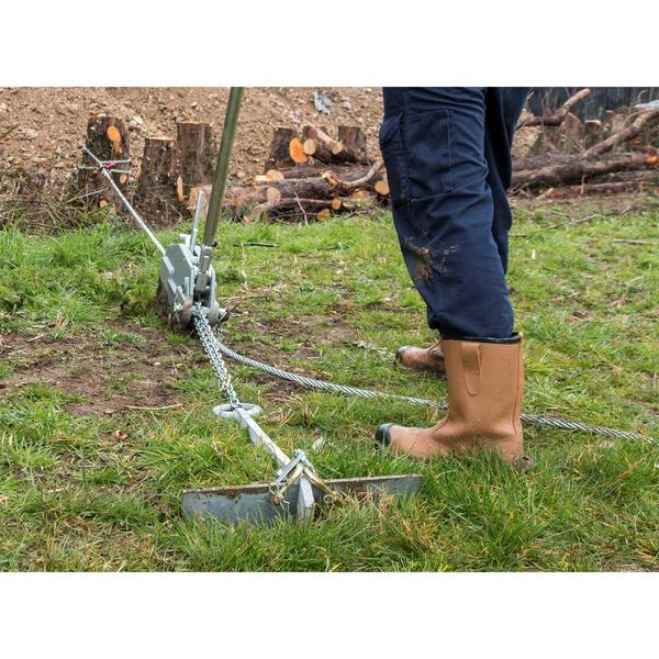Sealey WRP3200 Wire Rope Puller 3200kg Max Line Force Thumbnail 7