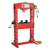Sealey YK509FAH Air/Hydraulic Press 50 Tonne Floor Type with Foot Pedal