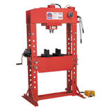 Sealey YK759FAH Air/Hydraulic Press 75 Tonne Floor Type with Foot Pedal