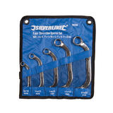 Silverline 945235 Obstruction Spanner Set 5pce