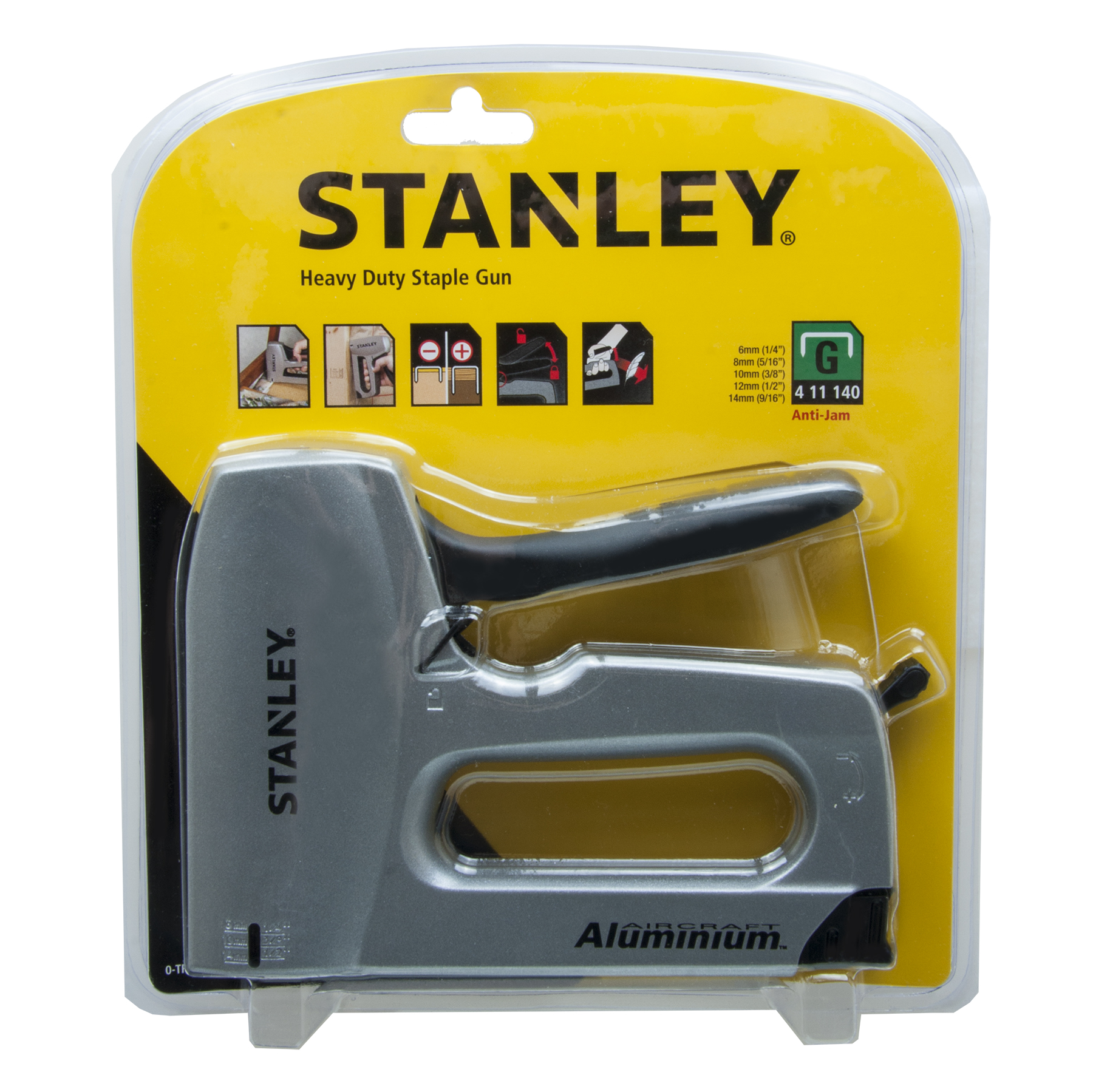 stanley 0tr150hl heavy duty staple gun with 8mm staples thumbnail 4