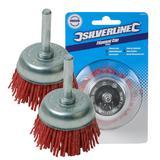 2 x Silverline 395024 Non Sparkling Filament Cup