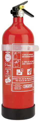 Draper 4939 2kg Dry Powder Fire Extinguisher