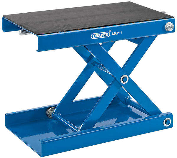 Draper 4991 450kg Motorcycle Scissor Stand with Pad Thumbnail 1