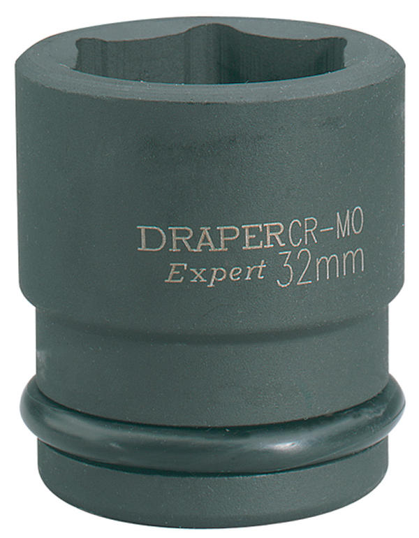 "Draper 5027 Expert 45mm 3/4"" Square Drive Hi-Torq 6 Point Impact Socket Thumbnail 1"
