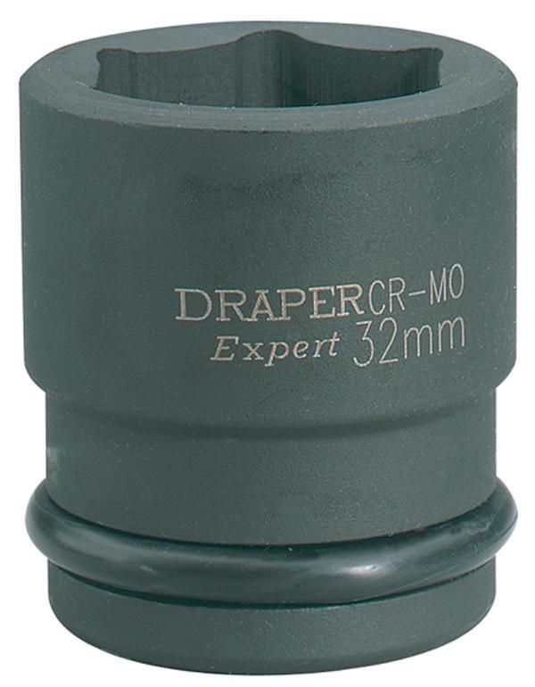 """Draper 5028 Expert 46mm 3/4"""" Square Drive Hi-Torq 6 Point Impact Socket Thumbnail 1"""