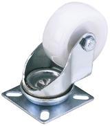 Draper 65503 604100P Nylon Castor Plate 100mm Diameter