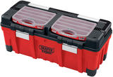 Draper 5178 Expert 30L Tool Box with Organisers and Tote Tray