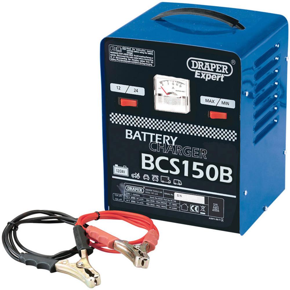 Draper 05582 BCS150B  Expert 12V 135A Battery Starter/Charger