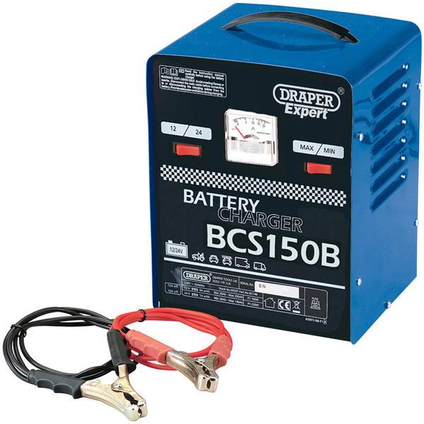 Draper 05582 BCS150B  Expert 12V 135A Battery Starter/Charger Thumbnail 1