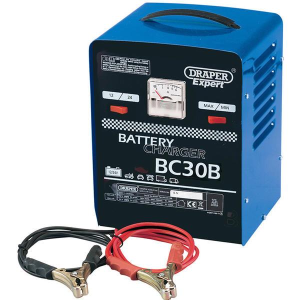 Draper 05583 BC30B Expert 12V/24V 20A Battery Charger Thumbnail 1