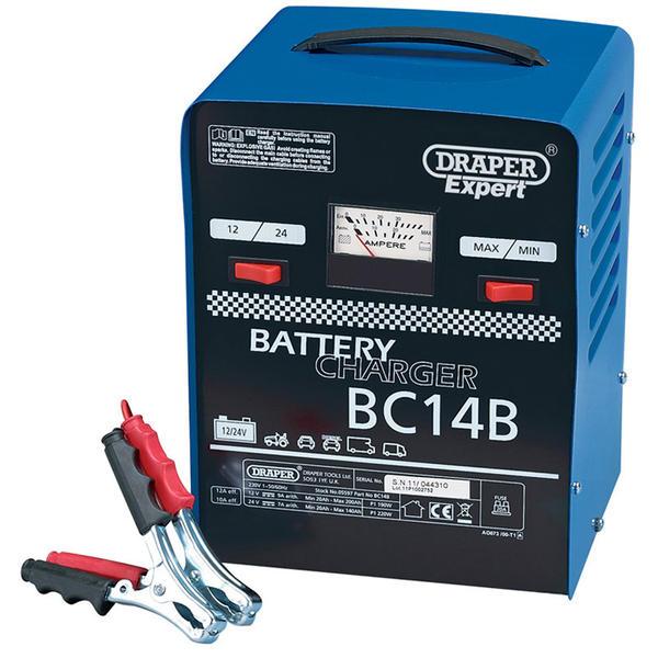 Draper 05597 BC14B Expert 12V/24V 12A Battery Charger Thumbnail 1