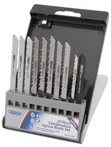 Draper 5622 Expert 10 Piece Assorted Jigsaw Blade Set
