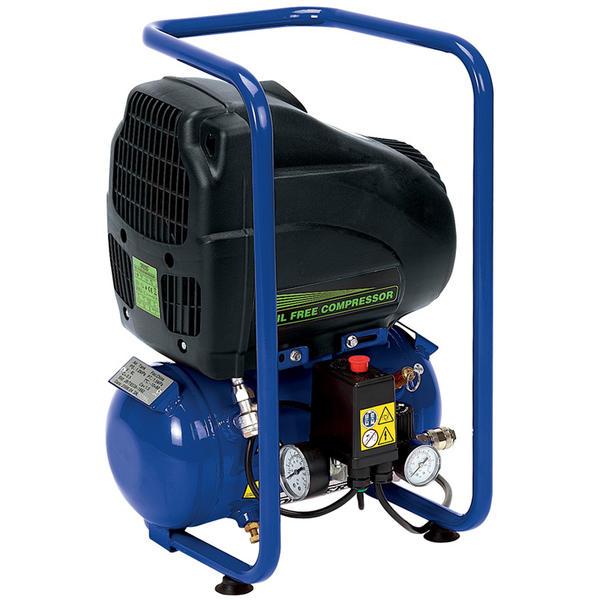 Draper 05634 DA6/1851 6L 110V 1.1kW Oil-Free Air Compressor Thumbnail 1