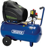 Draper 5635 24L 110V 1.1kW Oil-Free Air Compressor