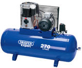 Draper 5638 Expert 270L 415V 5.5kW Belt-Driven Air Compressor