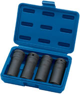 "Draper 5726 Expert 4 Piece 1/2"" Sq. Dr. Deep Impact Nut and Bolt Remover Set"