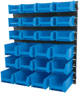 Draper 6796 24 Bin Wall Storage Unit (Small/Medium/Large Bins)