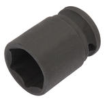 "Draper 06877 409-MMC Expert 17mm 3/8"" Square Drive Hi-Torq 6 Point Impact Socket"