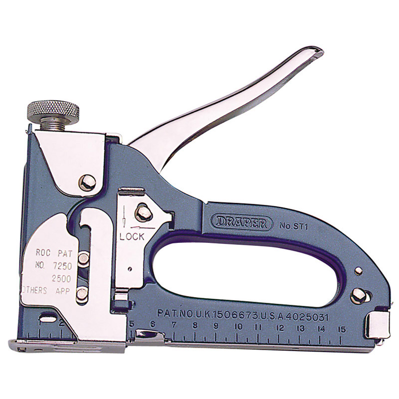 draper st1 heavy duty staple gun tacker thumbnail 6