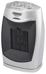 Draper 7214 1.5kW 230V Positive Temperature coefficient (PTC) Ceramic Heater