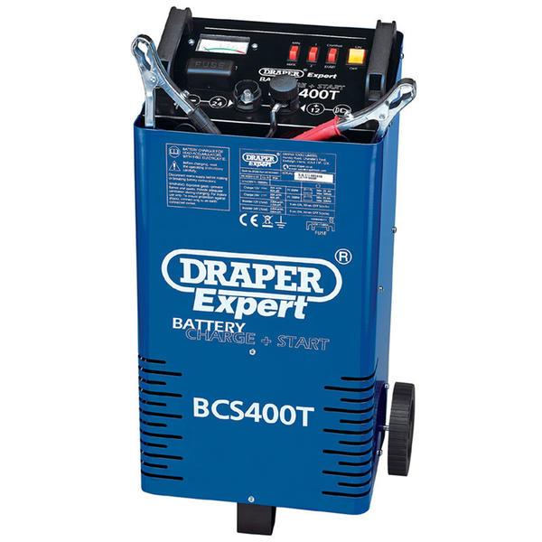 Draper 07263 BCS400T Expert 12/24V 400A Battery Starter/Charger Thumbnail 1