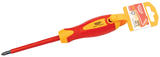 Draper 7482 Expert No. 2 X 100mm Fully Insulated PZ Type Screwdriver. (Display Packed)