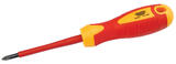 Draper 7490 Expert No. 1 X 80mm Fully Insulated Cross Slot Screwdriver (Sold Loose)
