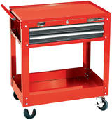 Draper 7635 Expert 2 Level Tool Trolley with Two Drawers