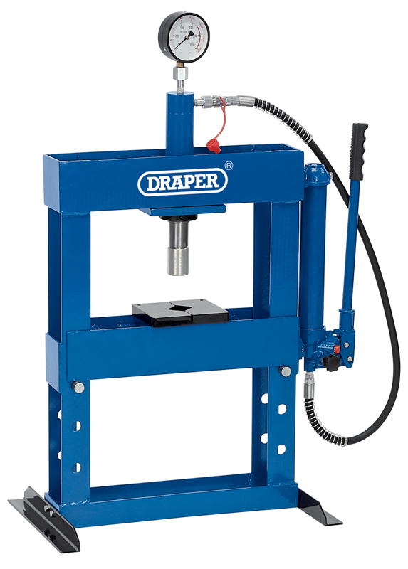 Draper 10582 Hbp 10b 10 Tonne Hydraulic Bench Press