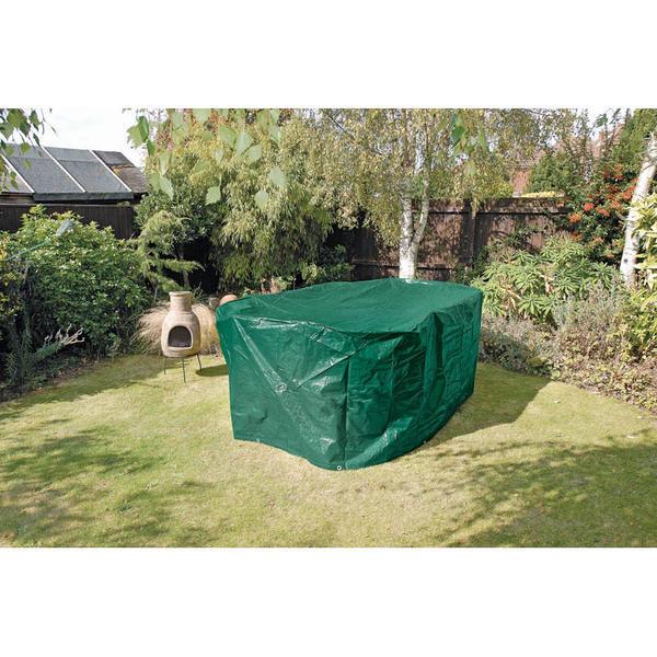 Draper 12911 oc11 oval patio set cover 2300 x 1650 x for Oval patio set cover