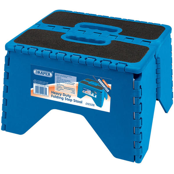 Draper 19260 Heavy Duty Folding Step Stool Thumbnail 1