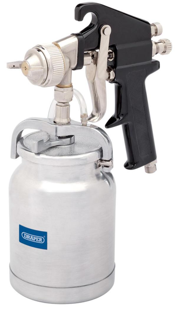Draper 21526 4212HP 1L Air Spray Gun Thumbnail 1