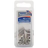 Draper 21706 Expert M5 X 0.8 Metric Thread Insert Refill Pack (12)