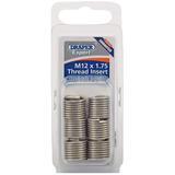 Draper 21711 Expert M12 X 1.75 Metric Thread Insert Refill Pack (12)