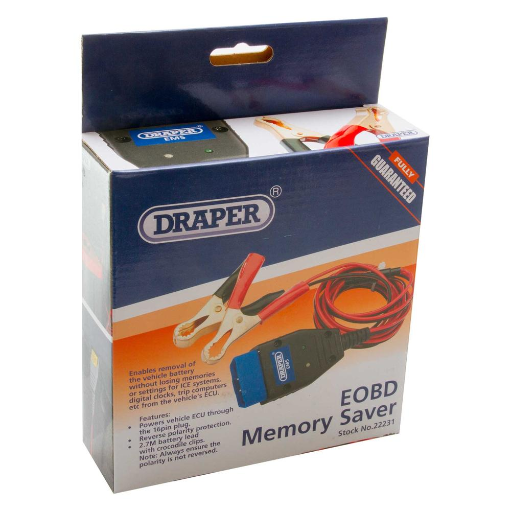Draper 22231 EMS EOBD Memory Saver