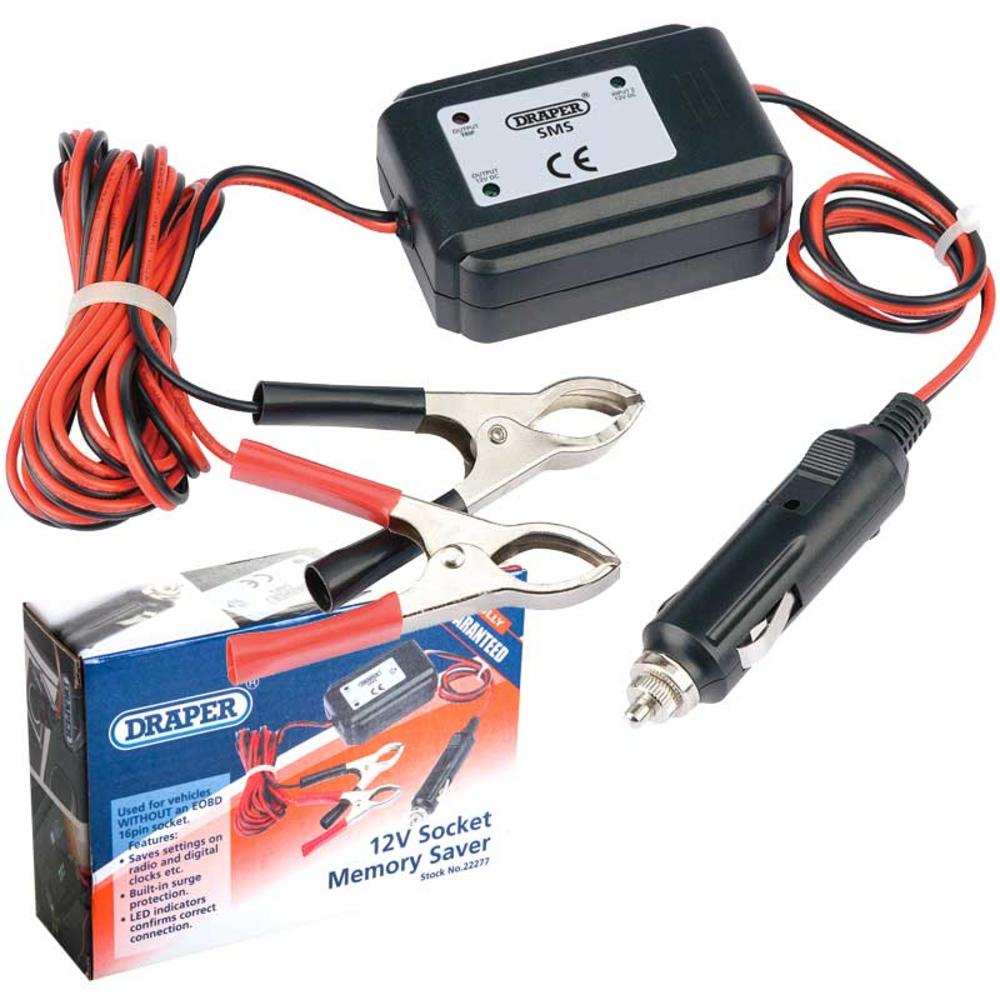 Draper 22277 SMS 12V Socket Memory Saver