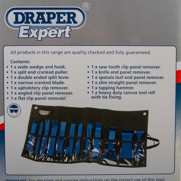Draper 22492 ITK-2 Expert 12 Piece Nylon Trim Removal Kit Thumbnail 6