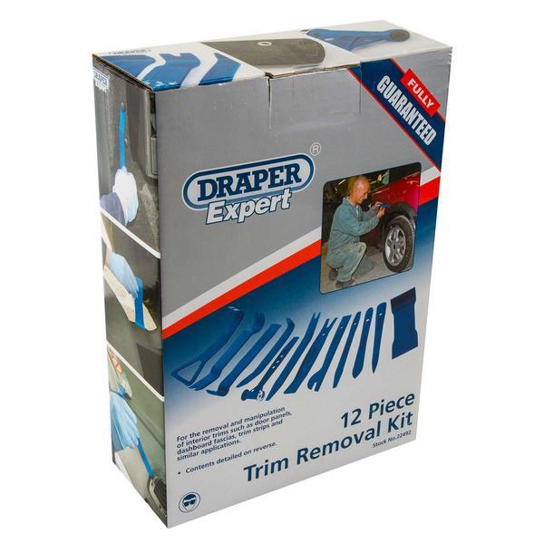 Draper 22492 ITK-2 Expert 12 Piece Nylon Trim Removal Kit Thumbnail 5