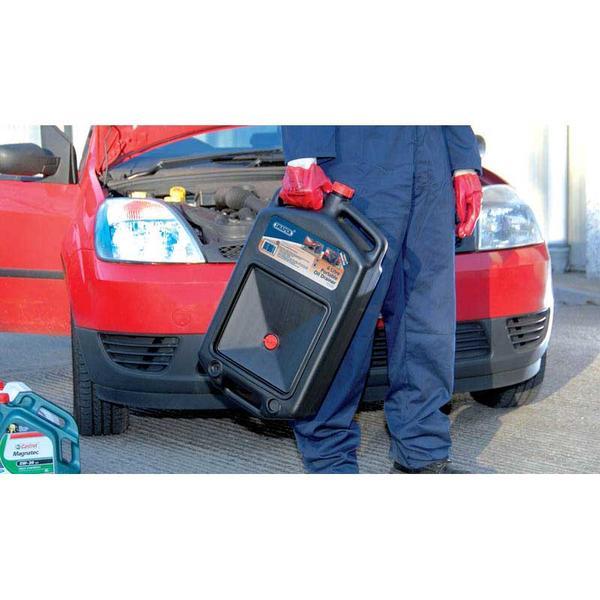 Draper 22493 8L Portable Oil Drainer Thumbnail 2