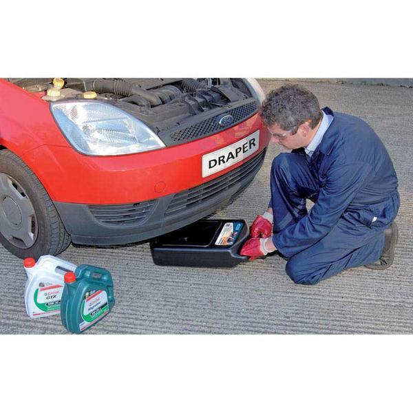 Draper 22493 8L Portable Oil Drainer Thumbnail 3
