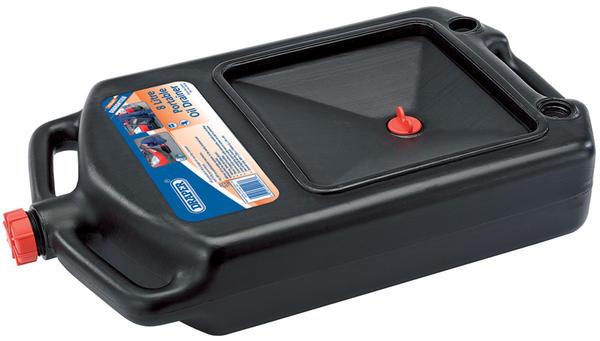 Draper 22493 8L Portable Oil Drainer Thumbnail 1
