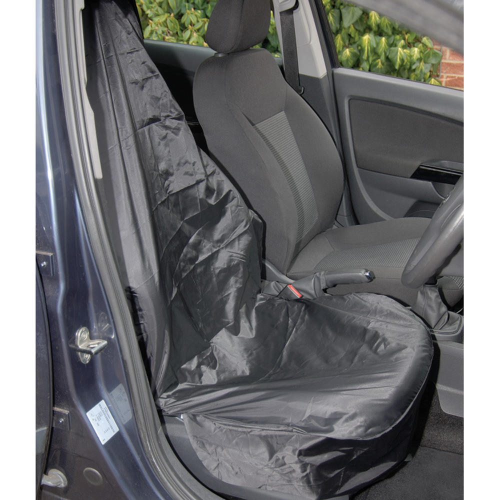 Draper 22596 SC-02 Side Airbag Compatible Polyester Front Seat Cover